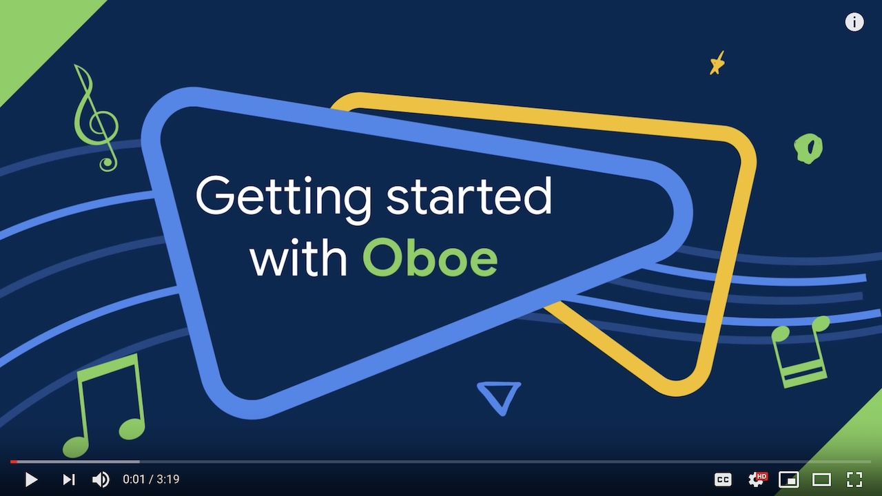 Introduction to Oboe video