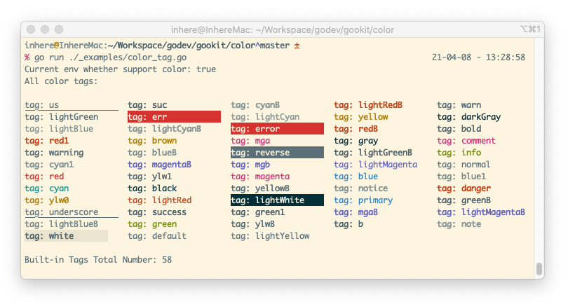 color-tags