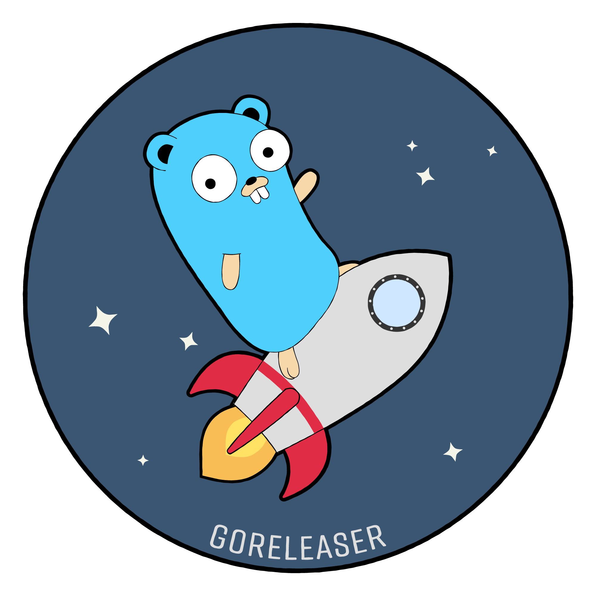 goreleaser new logo