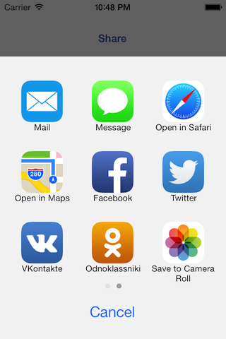 iOS7 and later