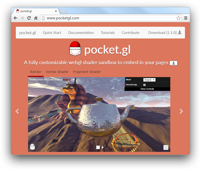 http://pocket.gl