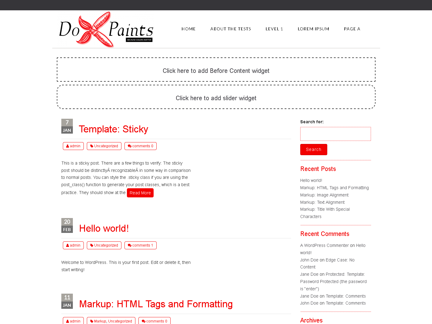 Dox Paint
