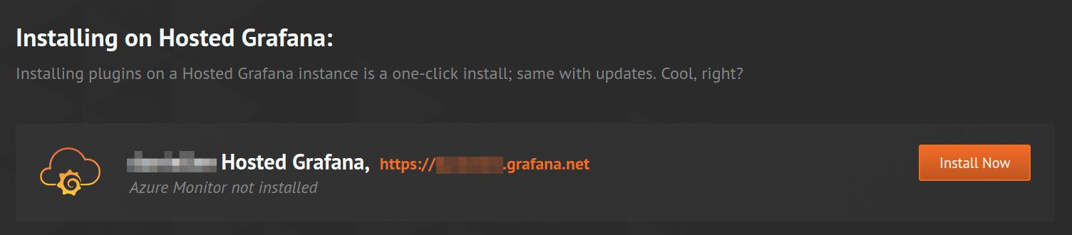 GrafanaCloud Install