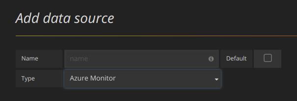 Data Source Type