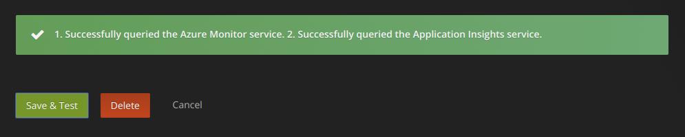 Azure Monitor API Details