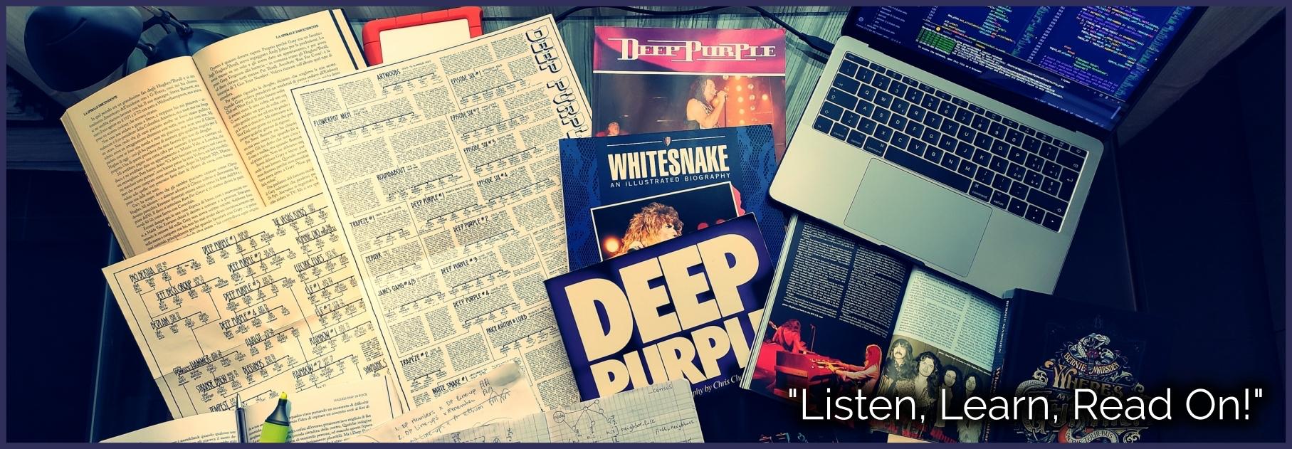 The Deep Purple Network Bibliography