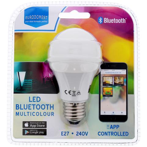 Eurodomest RGB LED Bluetooth BLE bulb linux tool