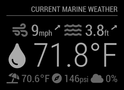 MMM-MarineWeather Screenshot #2