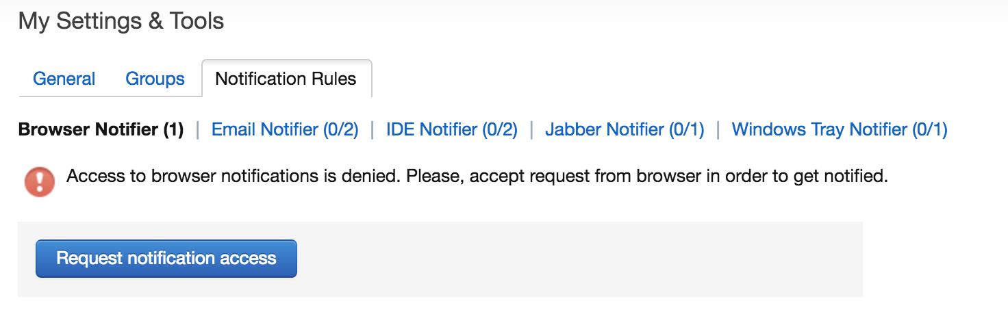 settings denied