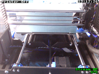 Prusa 3D printer monitoring with octoprint