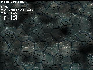 Full example screenshot with three threads