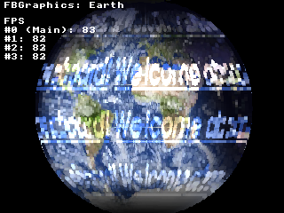 Earth with four threads
