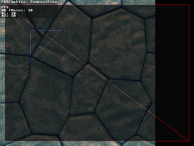 Compositing with three threads