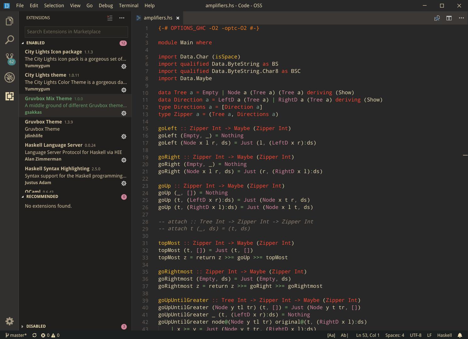 haskell-dark