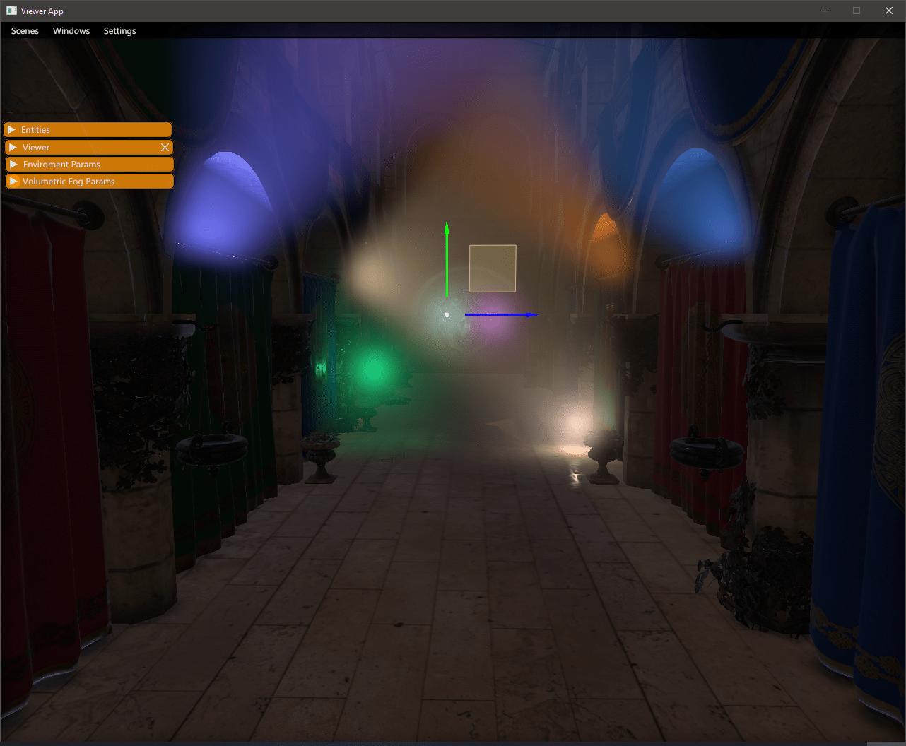 Volumetric fog lighting