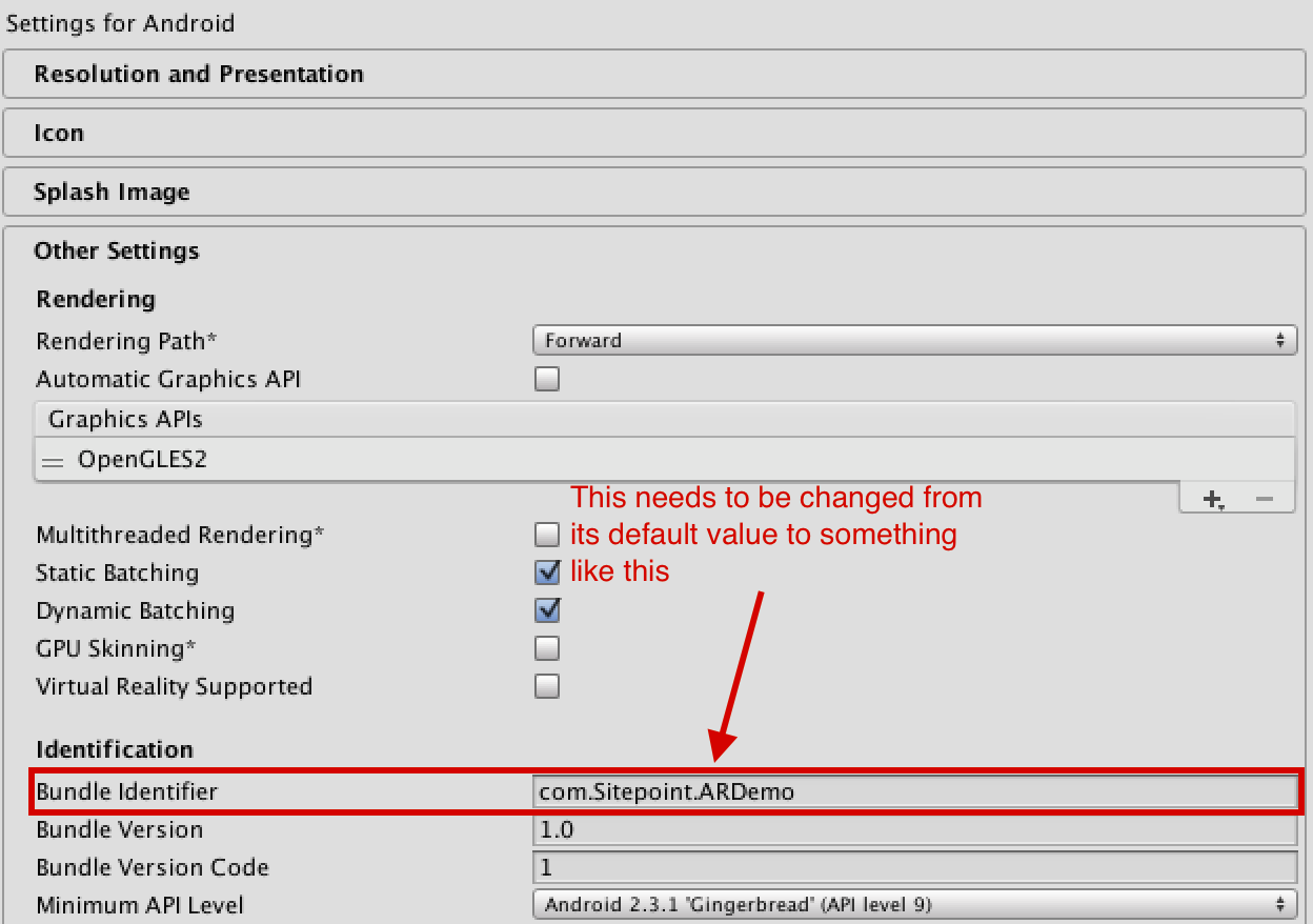 Image Bundle Identifier