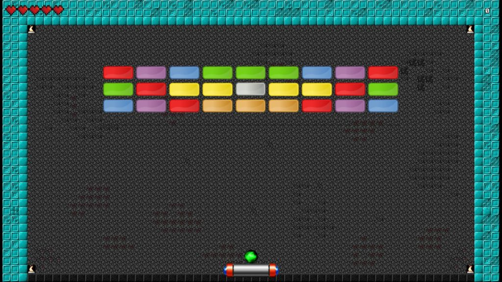 Arkanoid Clone Screenshot