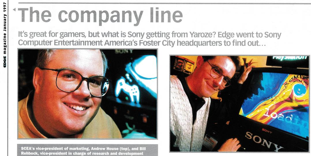 It's great for gamers, but what is Sony getting from Yaroze?