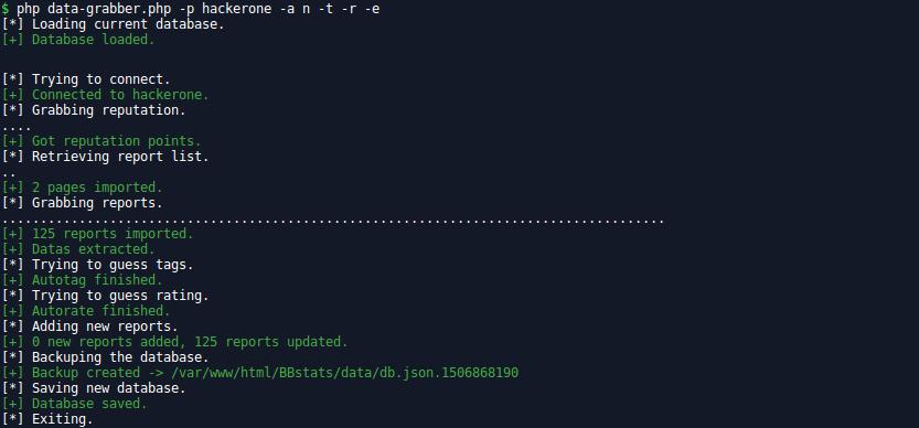 GitHub - gwen001/BBstats: Bug Bounty statistics