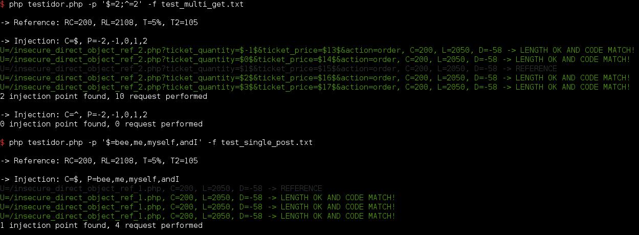 GitHub - gwen001/testidor: PHP tool to test IDOR