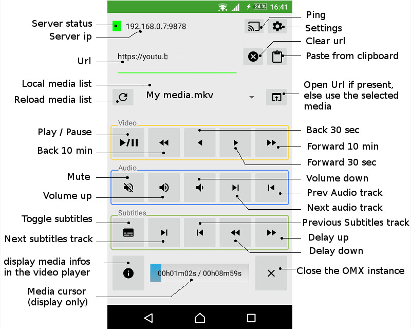 android app preview