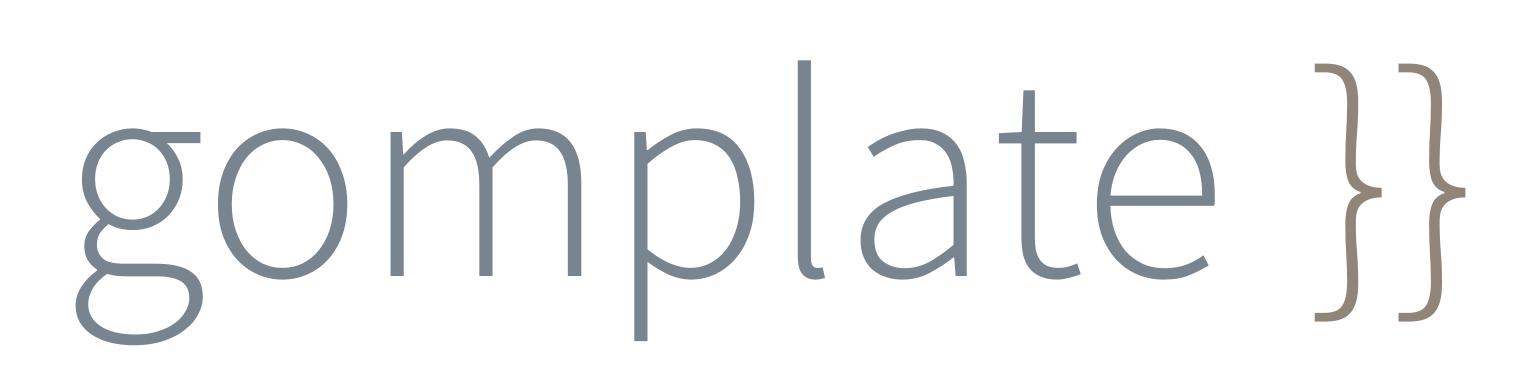 gomplate logo