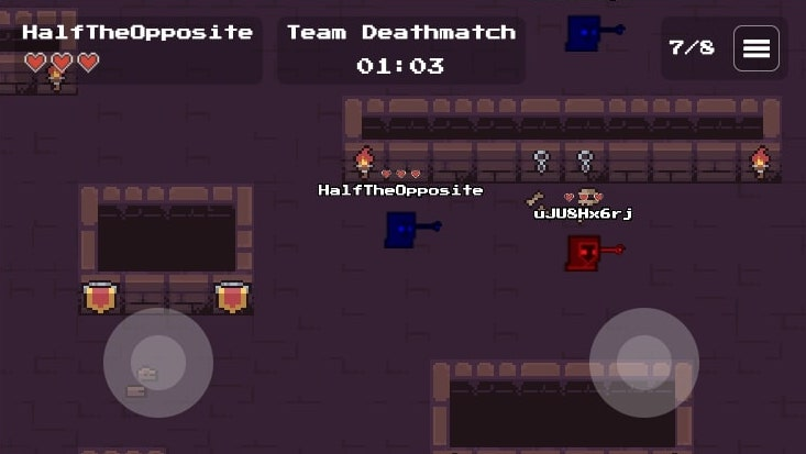 In-game screenshot of mobile