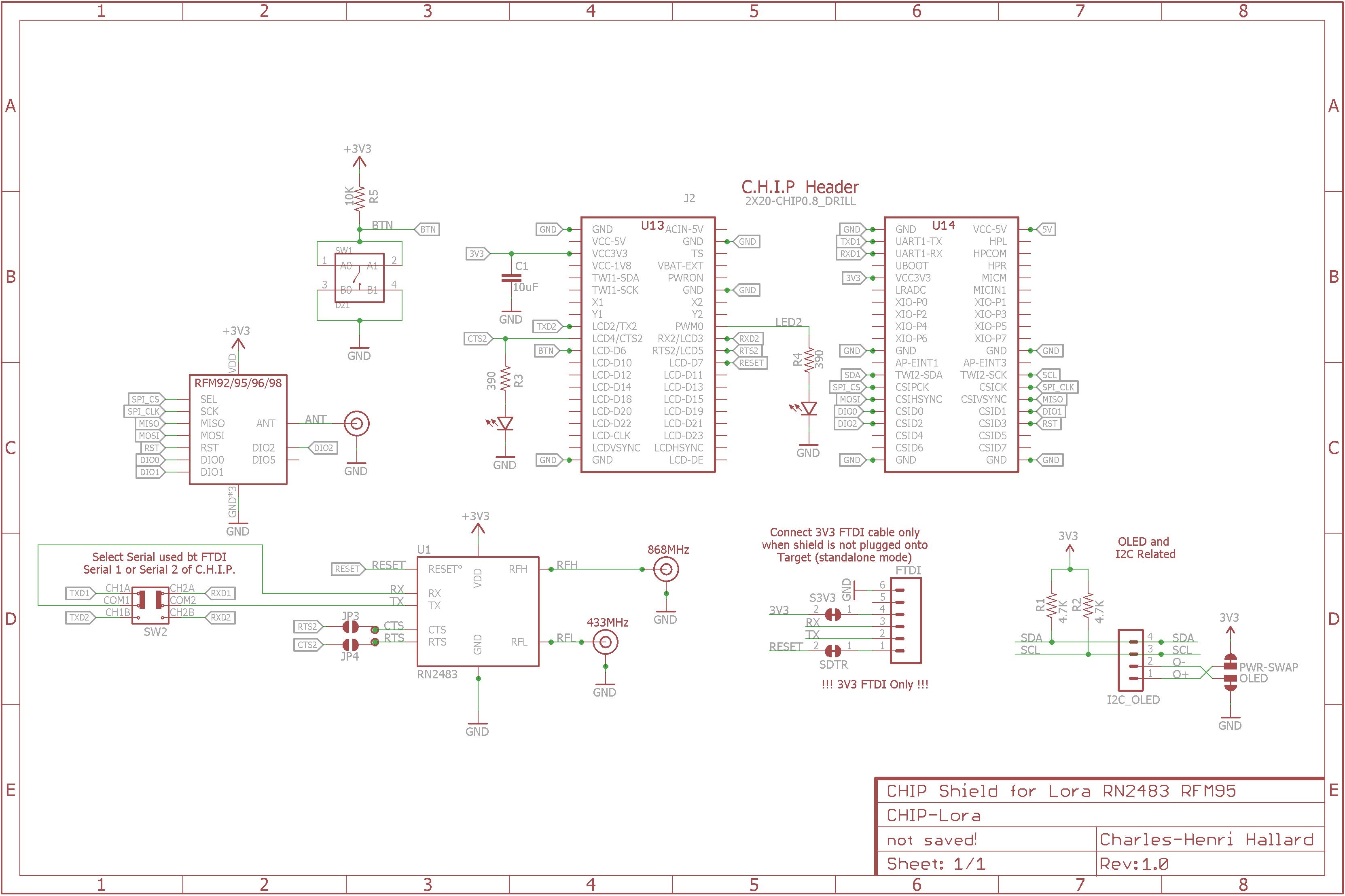 Github Hallard Lorachip Chip Computer Rn2483 Or Rfm95 Lora Shield Assembled Board From Schematic 1