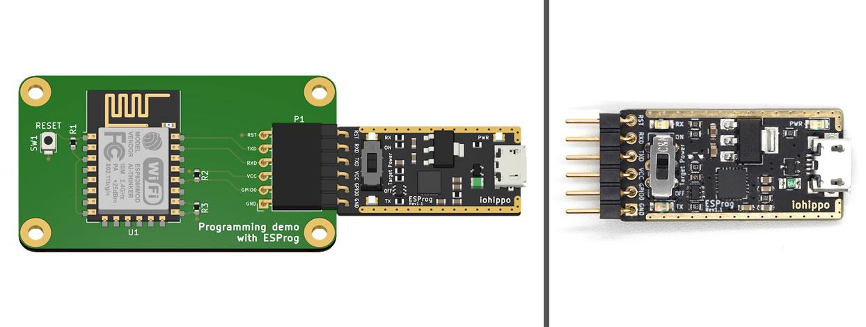 Github Hamityanik Esp8266 Template For Esprog A Kicad Project