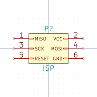 POGO ISP Micro KiCad library