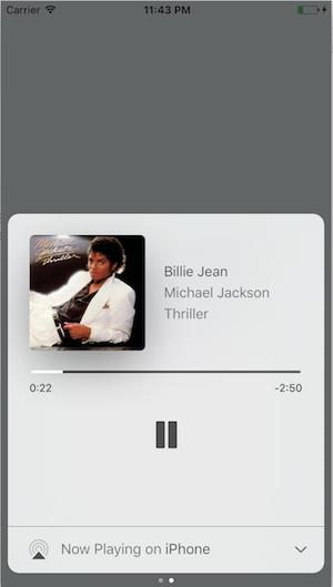 iOS lockscreen