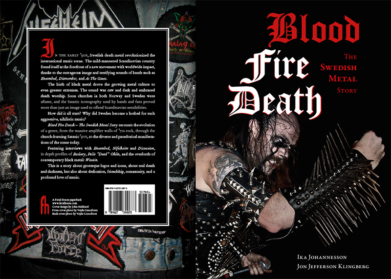Sách: Blood Fire Death: The Swedish Metal Story