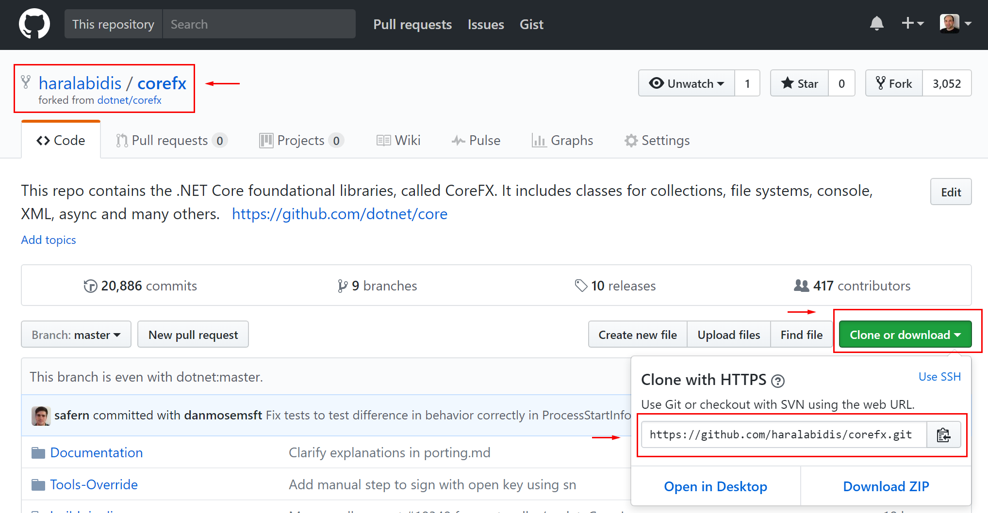 Checking out the code repository · dotnet/corefx Wiki · GitHub