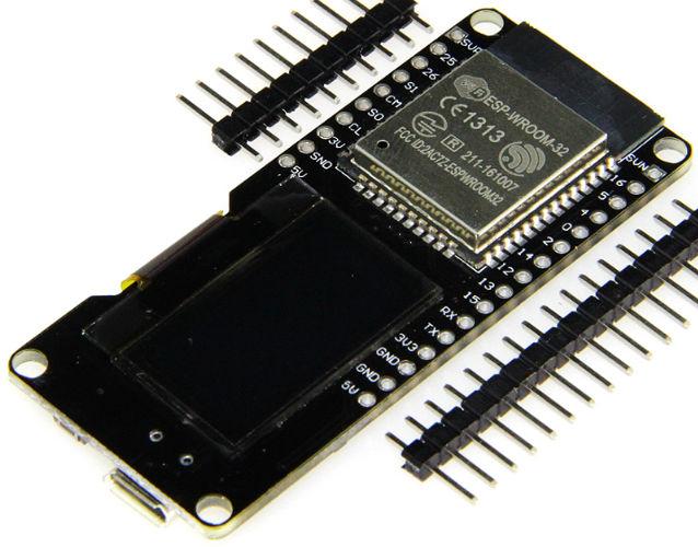 the ESP32 module I have