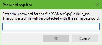 Cara Setting SFTP Pada Droplet VPS DigitalOcean-FileZilla Convert Format id_rsa Ke Format id_rsa.ppk-input passphrase