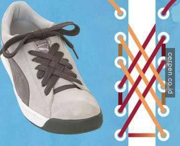 Cara Ikat Sepatu Converse High, Mudah Dilepas dan Dipakai