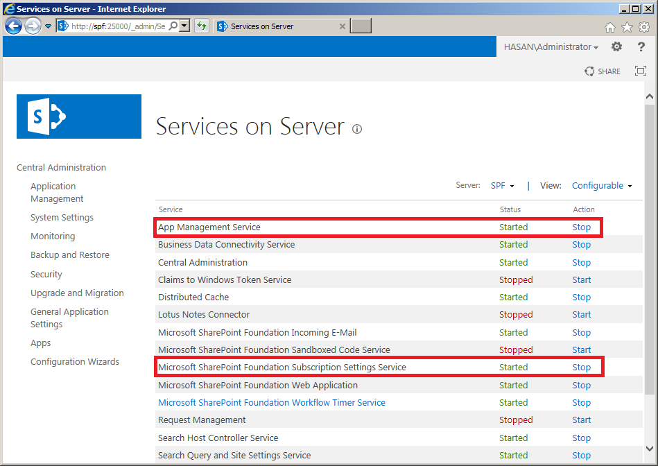sp2013-services-on-server
