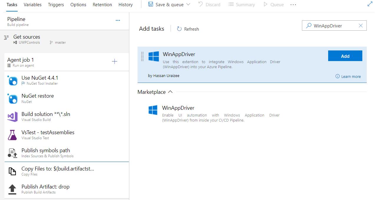 Winappdriver In Ci With Azure Pipelines Microsoft Winappdriver