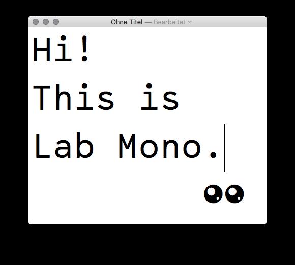Lab Mono