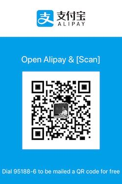 alipay pay qrcode scan