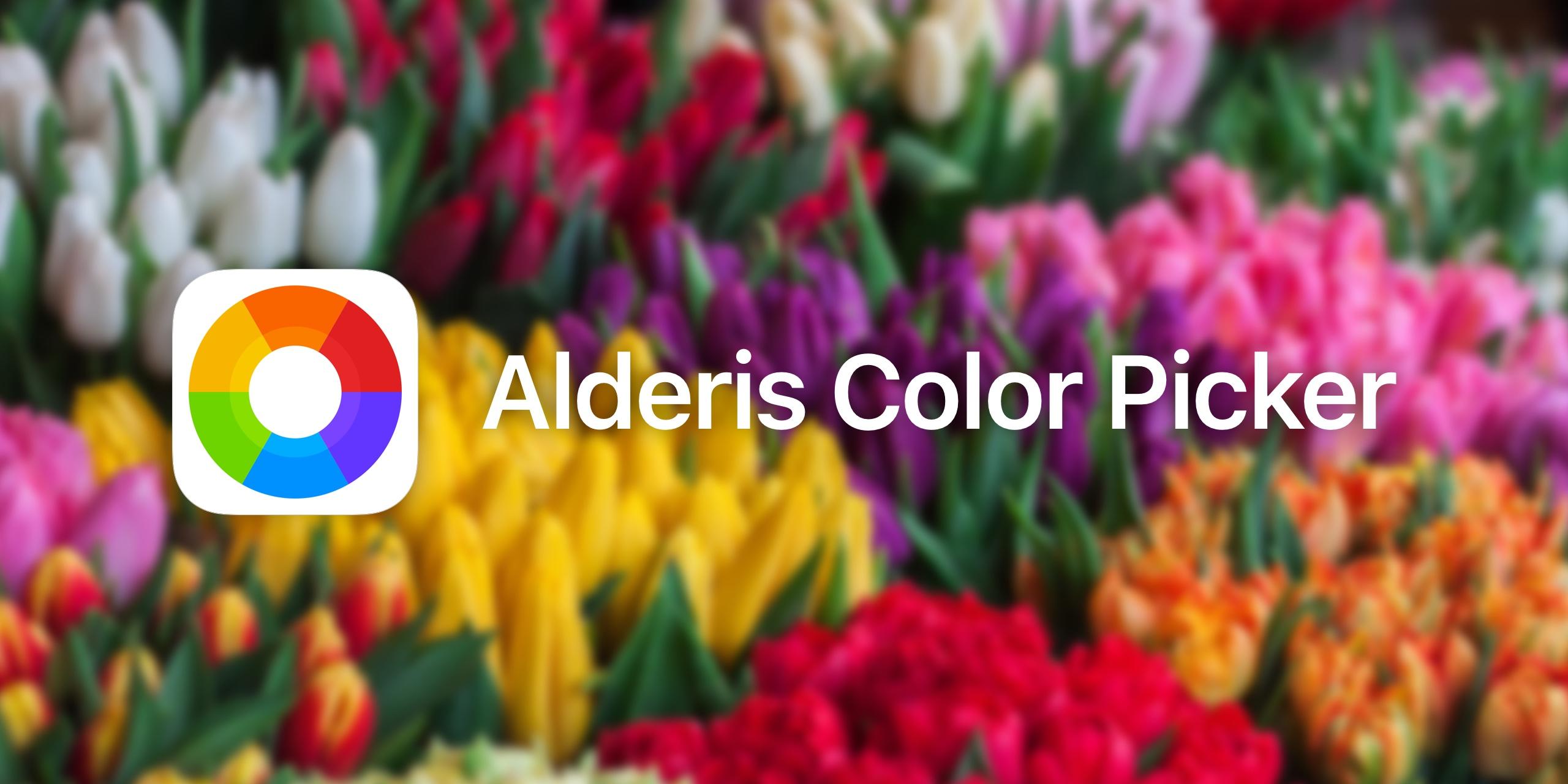 Alderis Color Picker