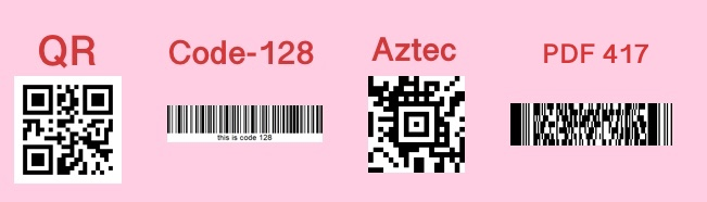 Supported Barcode