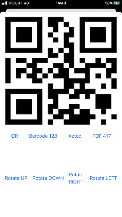 SwiftUI QRCode Scanner