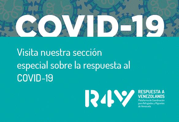 Visita nuestra sección especial sobre la respuesta al COVID-19