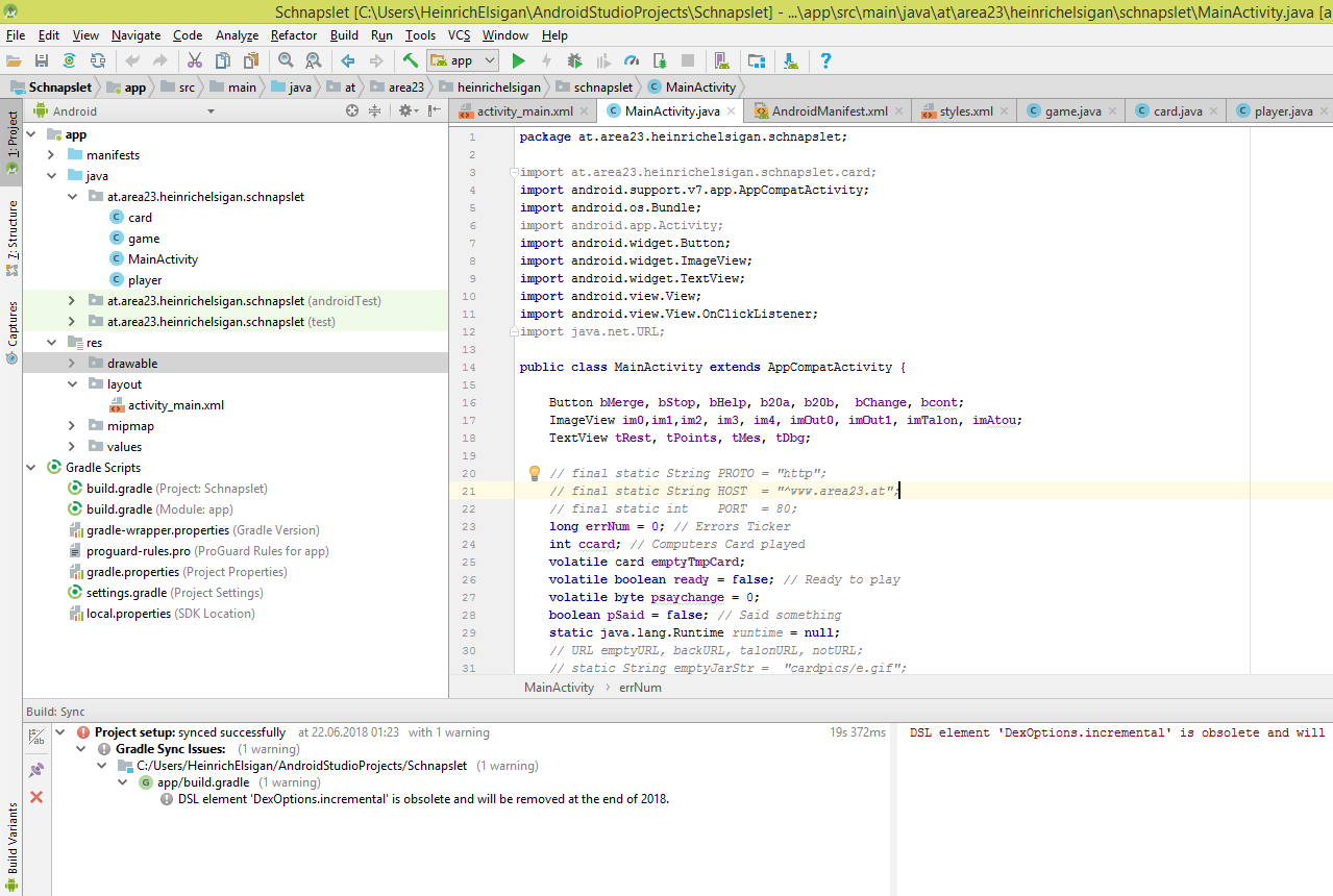 Android Studio Sources