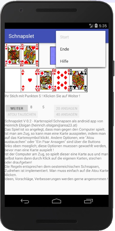 Schnapslet Android