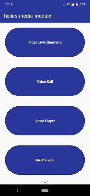 MediaStreaming App