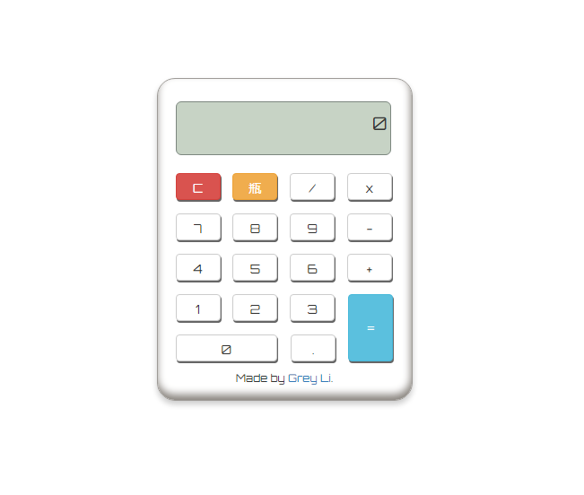 GitHub - helloflask/calculator: A Calculator made by Flask