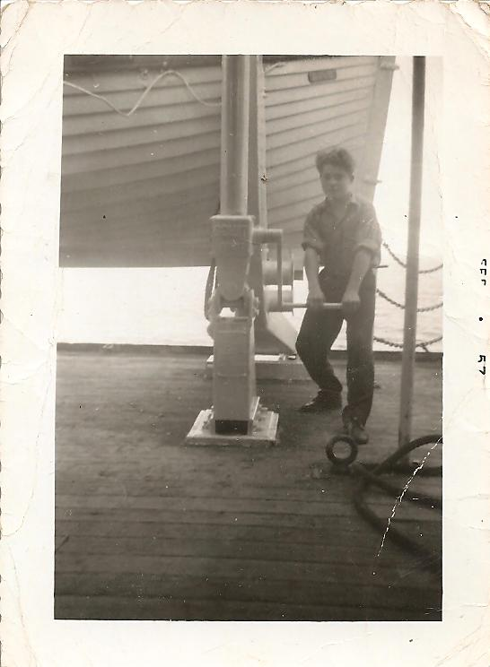 Arne Working at age 14