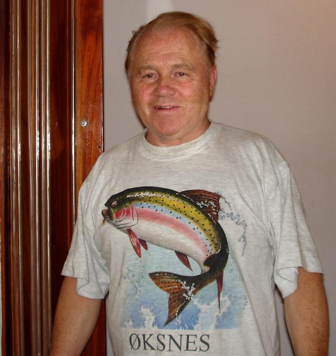 Arne at home